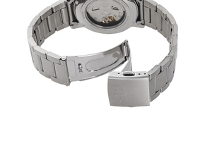 ORIENT: Mechanical Contemporary Watch, Metal Strap - 41.9mm (RA-AA0C03S)