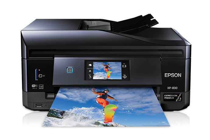 epson expression premium xp 830 small in one all in one printer rh epson com Epson Artisan 837 Problems epson artisan 830 printer driver download