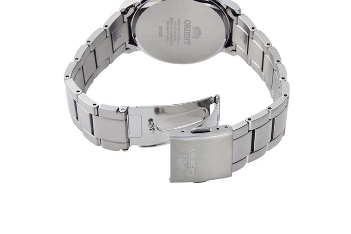 Orient: Cuarzo Contemporary Reloj, Metal Correa - 38.0mm (GW01003W)