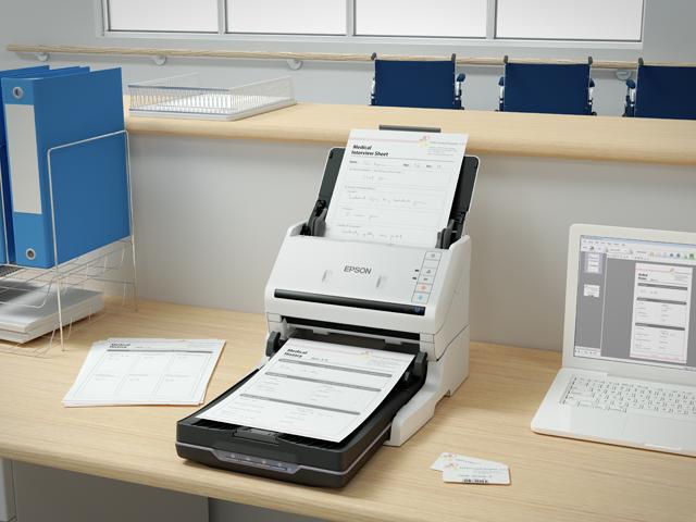 Epson WorkForce DS-530II A4 Duplex Sheet-fed Document Scanner