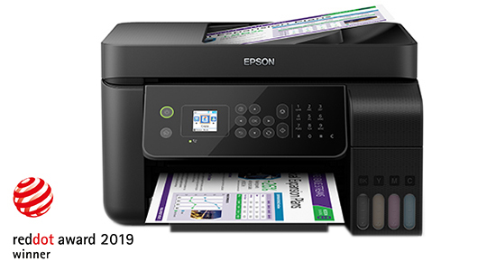 Epson L5190 Wi-Fi All-in-One Ink Tank Printer with ADF | Ink