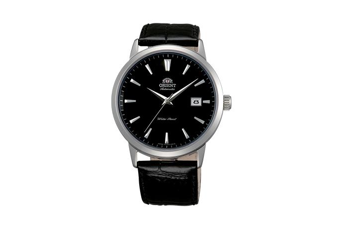 ORIENT: Mechanisch Modern Uhr, Leder Band - 41.0mm (ER27006B)