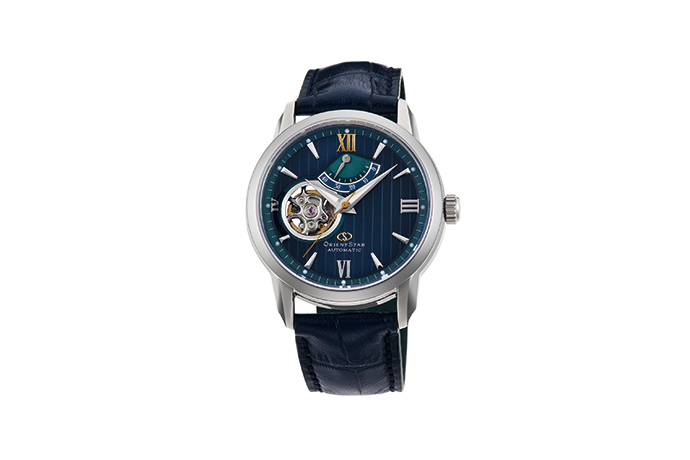 ORIENT STAR: Mechanical Contemporary Watch, Leather Strap - 39mm (RE-DA0001L)