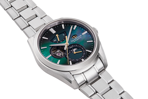 ORIENT STAR: Mechanical Contemporary Watch, Metal Strap - 41.0mm (RE-AY0006A) Limited