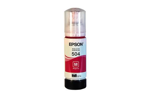 Botella de Tinta Magenta Epson T504