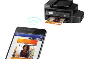 Epson WorkForce ET-4500 EcoTank All-in-One Printer