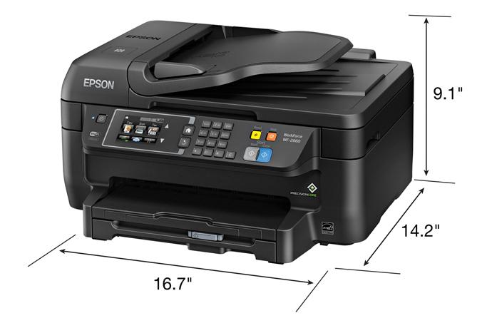 Epson workforce wf-2660 all-in-one printer | inkjet | printers.