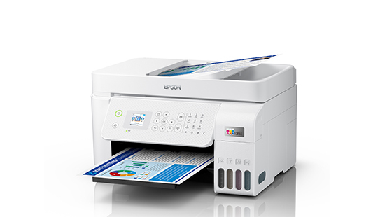 Epson EcoTank L5296 A4 Wi-Fi All-in-One Ink Tank Printer with ADF