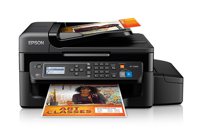 Epson WorkForce ET-4500 EcoTank All-in-One Printer