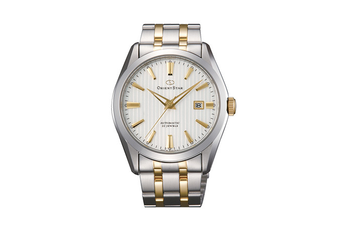 ORIENT STAR: Mechanical Contemporary Watch, Metal Strap - 41.0mm (DV02001W)