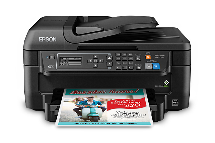 Epson Workforce Wf 2750 All In One Printer Inkjet Printers For