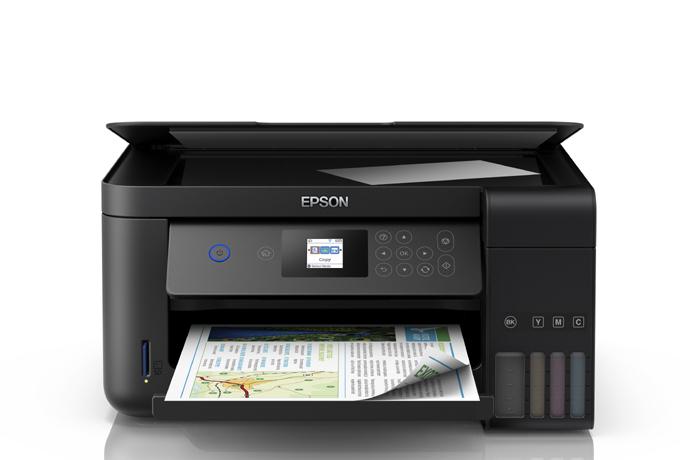 Impresora Multifuncional Epson Ecotank L4160 Inyecci 243 N