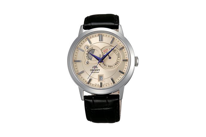 ORIENT: Mechanisch Modern Uhr, Leder Band - 41.5mm (ET0P003W)