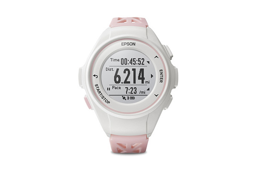 ProSense 17 GPS Running Watch - Light Pink