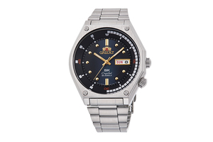 ORIENT: Mechanical Revival Watch, Metal Strap - 41.7mm (RA-AA0B03L)