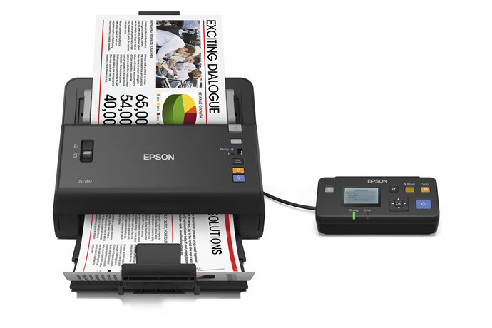 epson workforce ds-760 color document scanner | workgroup document