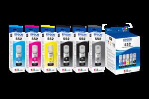 Epson 552 Claria ET Premium Ink Bottles
