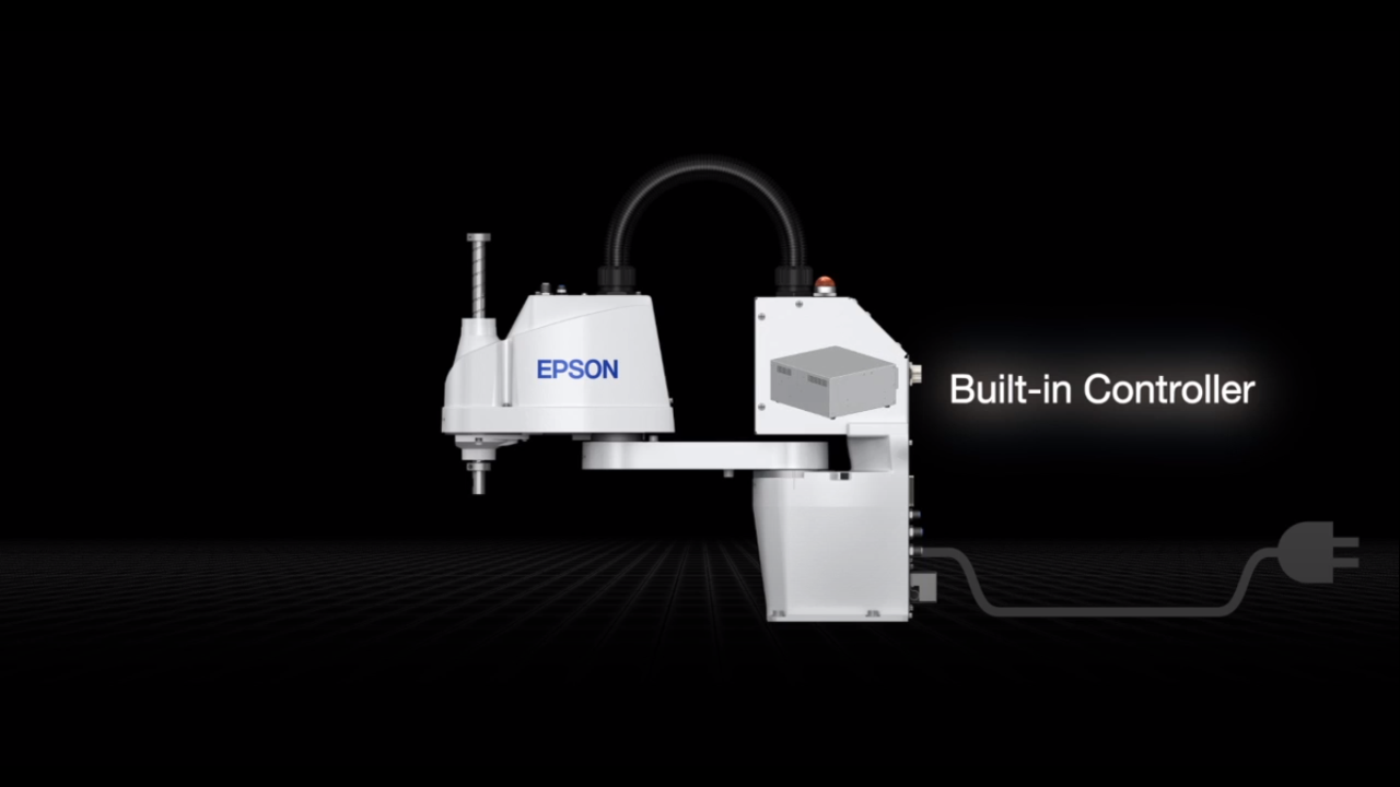 Epson Synthis T-Series All-in-One SCARA Robots Product Tour