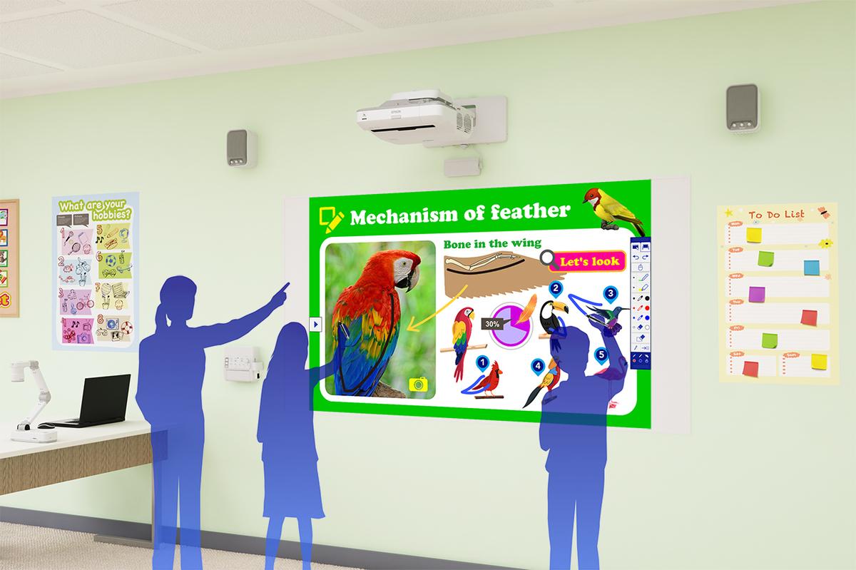 Epson EB-696Ui Ultra-Short Throw Interactive WUXGA 3LCD Projector