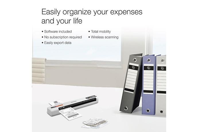 RapidReceipt™ Mobile Scanner, RR-70W
