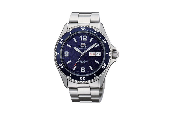 ORIENT: Mechanical Sports Watch, Metal Strap - 41.5mm (AA02002D)