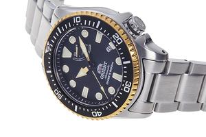 ORIENT: Mechanical Sports Watch, Metal Strap - 43.4mm (RA-EL0003B)