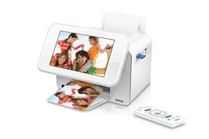 Epson PictureMate Show Digital Frame / Compact Photo Printer - PM 300
