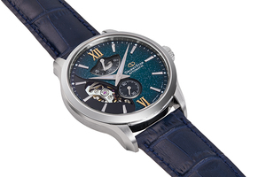 ORIENT STAR: Mechanical Contemporary Watch, Leather Strap - 41.0mm (RE-AV0B05E) Limited