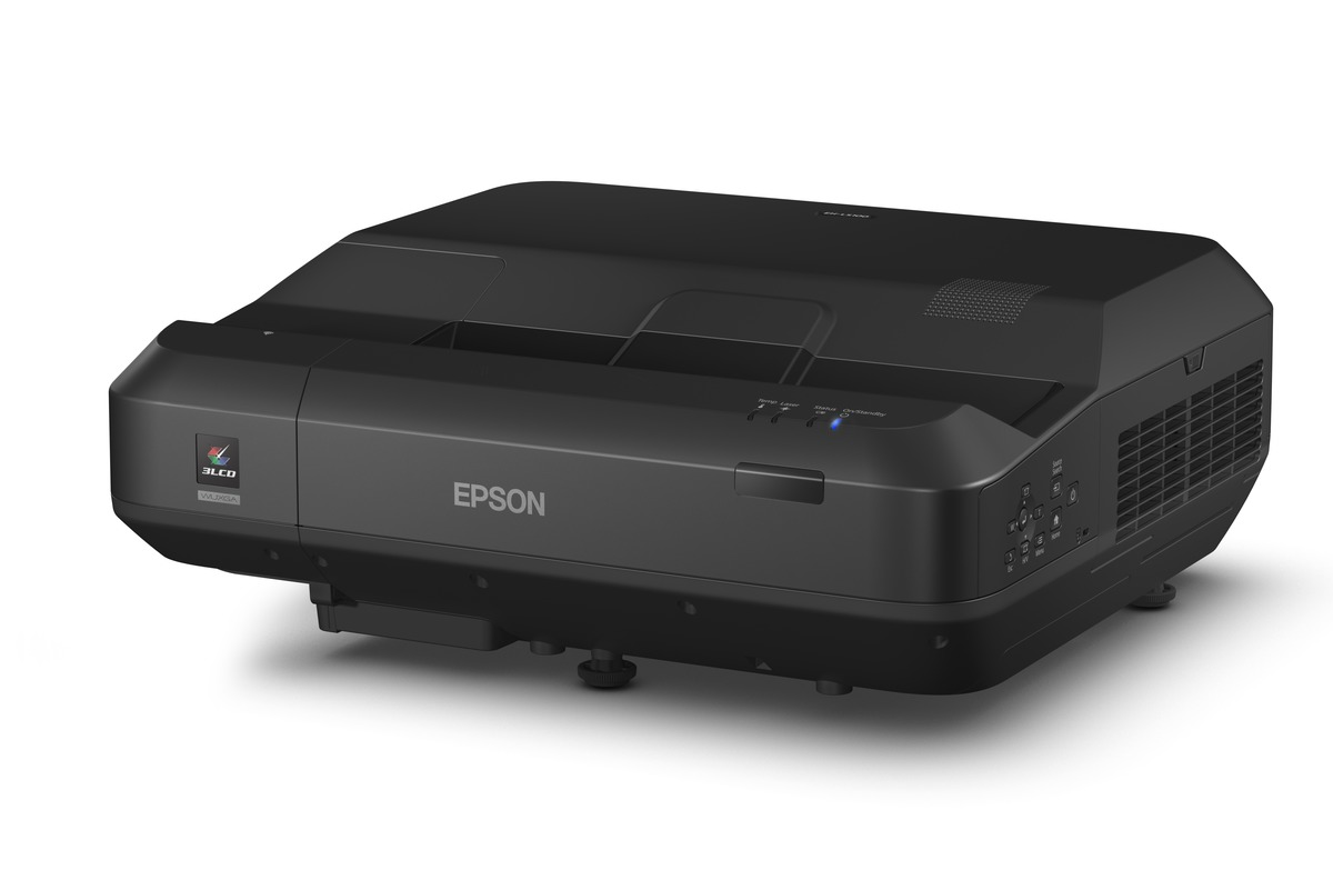 Epson Home Theatre EH-LS100 Full HD Ultra-short Throw 3LCD Laser Projector