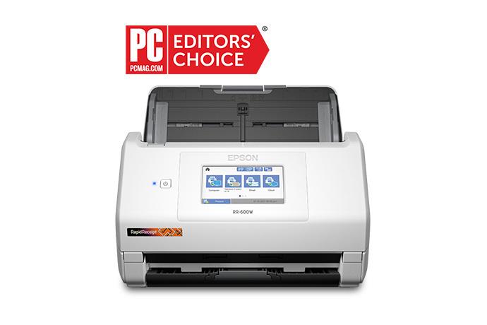 Image of RapidReceipt RR-600W Desktop Scanner