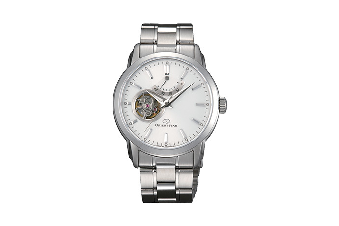 ORIENT STAR: Mechanical Contemporary Watch, Metal Strap - 39.0mm (DA02002W)