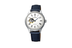 ORIENT STAR: Mechanical Classic Watch, Leather Strap - 30.5mm (RE-ND0005S)