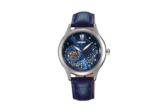 ORIENT: Mechanical Contemporary Watch, Leather Strap - 36.0mm (DB0A009D)