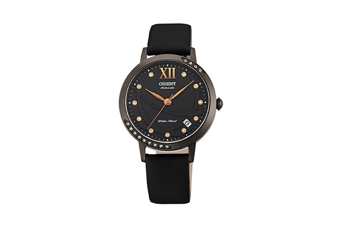 ORIENT: Mechanical Contemporary Watch, Leather Strap - 36.0mm (ER2H001B)