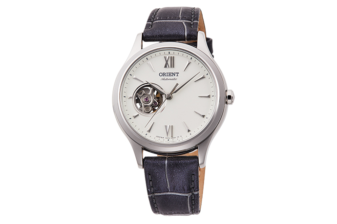 ORIENT: Mechanical Contemporary Watch, Leather Strap - 35.9mm (RA-AG0025S)