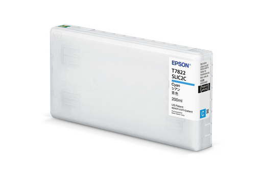 Epson T43S, 200ml Cyan Ink Cartridge