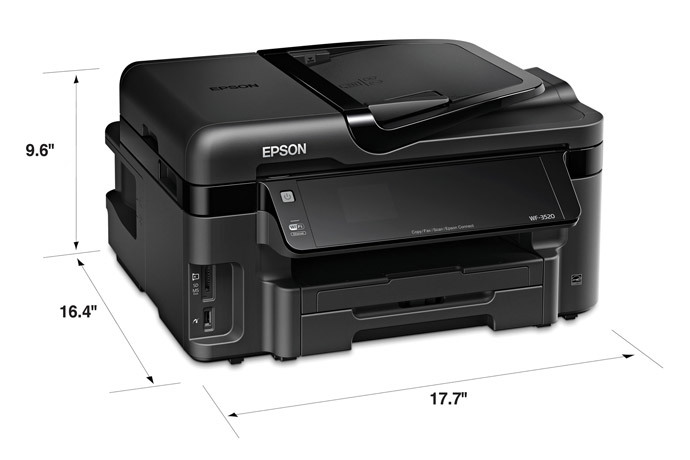 epson wf 3520 printer