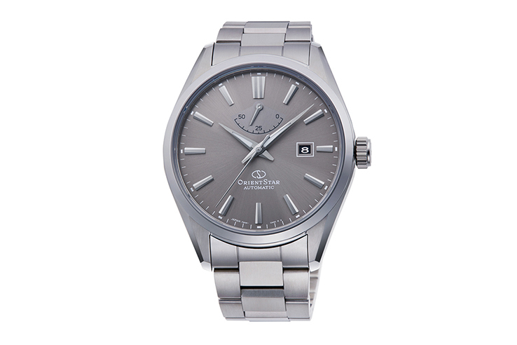 ORIENT STAR: Mecánico Contemporary Reloj, Metal Correa - 42.0mm (RE-AU0404N)
