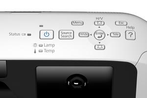 PowerLite 580 XGA 3LCD Projector for SMART