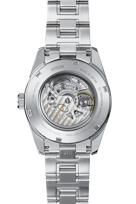 ORIENT STAR: Mechanical Contemporary Watch, Metal Strap - 38.5mm (RE-AU0006S)