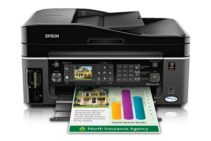 Epson WorkForce 615 All-in-One Printer
