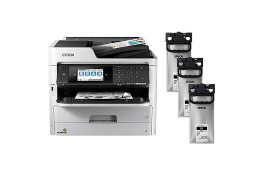 WorkForce Pro WF-M5799 Monochrome MFP Supertank Printer