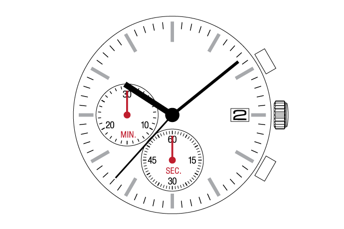 MUSCLE MOVEMENT  Chronograph  VR37