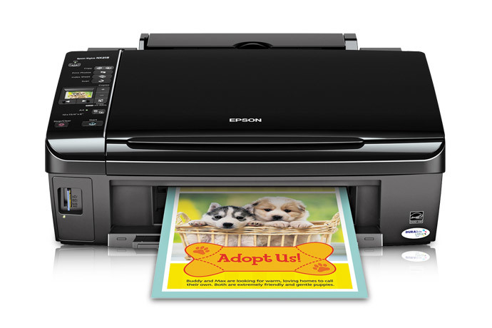 epson stylus nx215 all-in-one printer | inkjet | printers | for