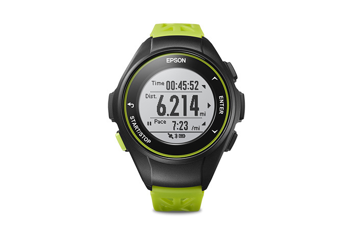 ProSense 17 GPS Running Watch - Light Green