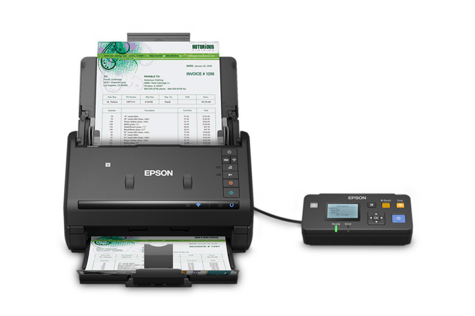 WorkForce ES-500WR Wireless Document Scanner ― Accounting Edition