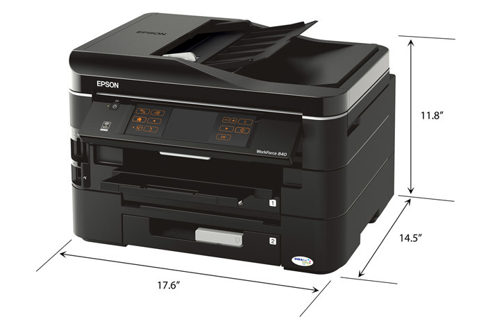 epson workforce 840 all in one printer inkjet printers for rh epson com Printer Ink Epson Workforce 480 Epson Workforce 840 Printer Manual