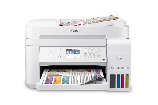 EcoTank ET-3760 All-in-One Printer
