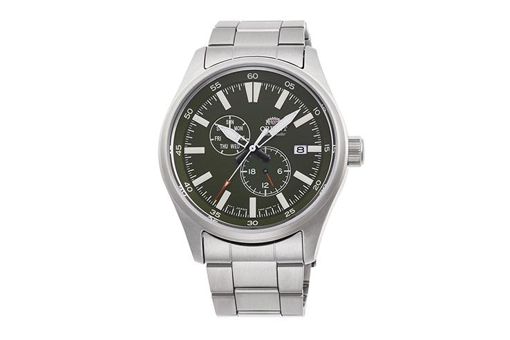 ORIENT: Mechanical Sports Watch, Metal Strap - 42.4mm (RA-AK0402E)