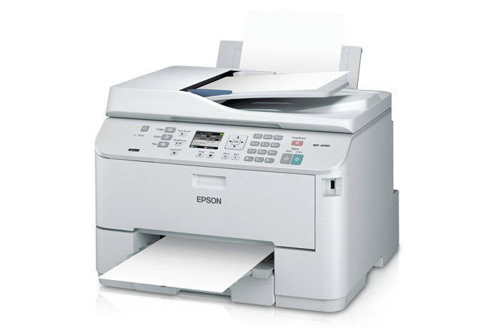 Epson WorkForce Pro WP 4590 Network Multifunction Colour Printer With PCL